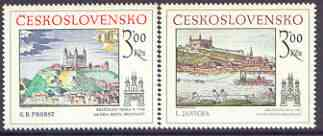 Czechoslovakia 1979 Historic Bratislavia (3rd issue) set of 2 unmounted mint, SG 2500-01