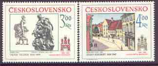 Czechoslovakia 1983 Historic Bratislavia (7th issue) set of 2 unmounted mint, SG 2698-99