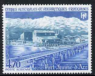 French Southern & Antarctic Territories 1984 Port Jeanne d'Arc 4f70 unmounted mint, SG 193