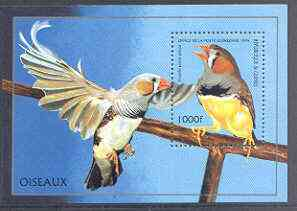Guinea - Conakry 1996 Birds perf m/sheet unmounted mint