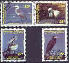 Djibouti 1991 Birds perf set of 4 cto used, SG 1061-64