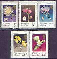 Pitcairn Islands 1973 Flowers perf set of 5 unmounted mint, SG 126-30