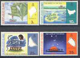 Gilbert & Ellice Islands 1973 Legends of Island Names (1st series) perf set of 4 unmounted mint, SG 213-16*
