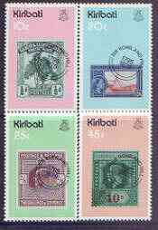 Kiribati 1979 Birth Centenary of Sir Rowland Hill perf set of 4 unmounted mint, SG 100-103 (gutter pairs available - price x 2)