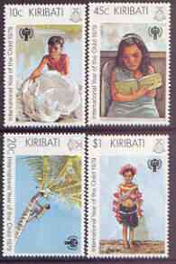 Kiribati 1979 International Year of the Child perf set of 4 unmounted mint, SG 105-108*