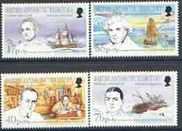 British Antarctic Territory 1994 Antarctic Heritage Fund perf set of 4 unmounted mint, SG 246-49