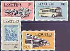 Lesotho 1972 Post Office Centenary perf set of 4 unmounted mint, SG 219-22*