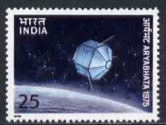 India 1975 Launch of First Indian Satellite unmounted mint, SG 762