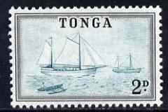 Tonga 1953 Ketches 2d (from def set) unmounted mint, SG 103