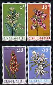 Malawi 1975 Orchids perf set of 4 unmounted mint, SG 491-94