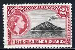 Solomon Islands 1956-63 Tinakula Volcano 2s (from def set) unmounted mint, SG 92*