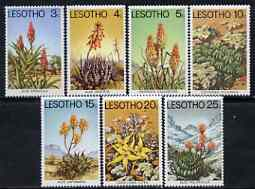 Lesotho 1977 Aloes & Succulents perf set of 7 unmounted mint, SG 322-28