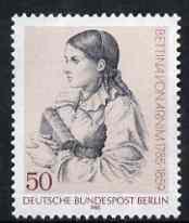 Germany - West Berlin 1985 Birth Anniversary of Bettina von Arnim (writer) unmounted mint, SG B692