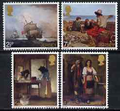 Jersey 1971 Paintings perf set of 4 unmounted mint, SG 65-68