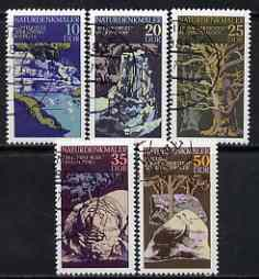 Germany - East 1977 Natural Phenomena perf set of 5 fine cto used, SG E1918-22