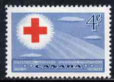 Canada 1952 Red Cross Conference unmounted mint, SG 442