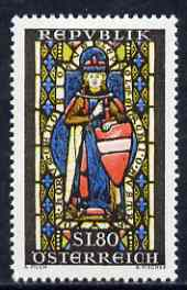Austria 1967 St Leopold Stained-Glass Window unmounted mint, SG 1512