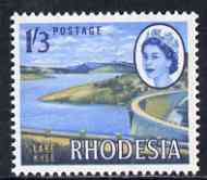 Rhodesia 1966-69 Dam & Lake Kyle 1s3d (litho printing) unmounted mint, SG 403