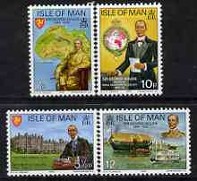 Isle of Man 1975 Death Anniversary of Sir George Goldie perf set of 4 unmounted mint, SG 67-70