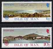 Isle of Man 1977 Europa - Landscapes perf set of 2 unmounted mint, SG 97-98