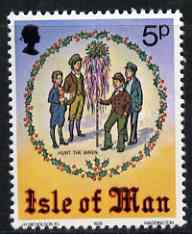 Isle of Man 1978 Christmas (Hunt the Wren) unmounted mint, SG 143