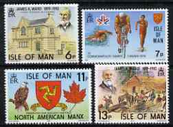 Isle of Man 1978 Anniversaries & Events perf set of 4 unmounted mint, SG 139-42