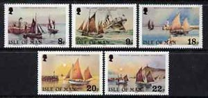 Isle of Man 1981 Royal National Mission to Deep Sea Fishermen perf set of 5 unmounted mint, SG 190-94