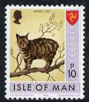 Isle of Man 1973-75 Manx Cat 10p (from def set) unmounted mint, SG 28