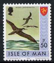 Isle of Man 1973-75 Manx Shearwater 50p (from def set) unmounted mint, SG 32