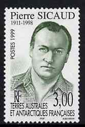 French Southern & Antarctic Territories 1999 Pierre Sicaud (scientist) unmounted mint, SG 396