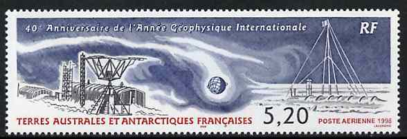 French Southern & Antarctic Territories 1998 International Geophysical Year unmounted mint, SG 392