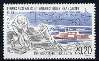 French Southern & Antarctic Territories 1999 Geoleta Programme 29f20 unmounted mint, SG 403