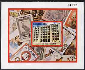 Colombia 1977 Opening of Postal Museum perf m/sheet unmounted mint, SG MS 1415