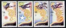 Somalia 2001 Aircraft - Transcontinental Flights perf set of 4 unmounted mint, Michel 906-909