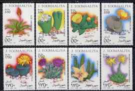Somalia 1995 Cacti perf set of 8 unmounted mint, Michel 543-50