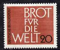 Germany - West 1963 Freedom From Hunger unmounted mint SG 1303