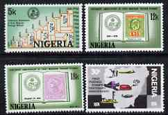 Nigeria 1974 Stamp Centenary perf set of 4 unmounted mint, SG 321-24