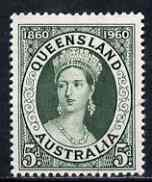 Australia 1960 Queensland Stamp Centenary fine used, SG 337