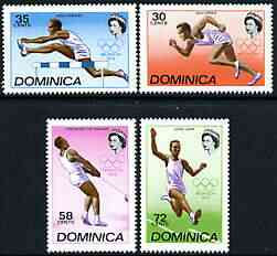 Dominica 1972 Munich Olympic Games perf set of 4 unmounted mint, SG 357-60