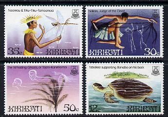 Kiribati 1984 Legends set of 4 (SG 228-31) unmounted mint