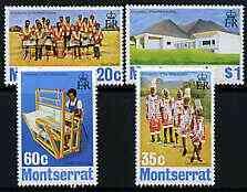 Montserrat 1974 University of the West Indies perf set of 4 unmounted mint, SG 324-27