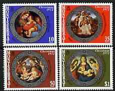 Montserrat 1972 Christmas (Paintings) perf set of 4 unmounted mint, SG 303-306