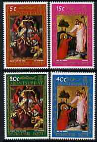 Montserrat 1971 Easter perf set of 4 unmounted mint, SG 268-71
