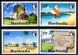Barbuda 1971 Tourism perf set of 4 unmounted mint, SG 94-97*