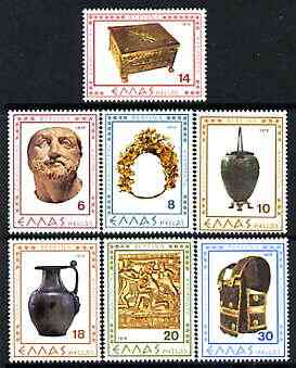 Greece 1979 Archaeological Discoveries perf set of 7 unmounted mint, SG 1468-74