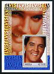 Angola 2002 Elvis Presley perf s/sheet unmounted mint