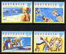 Australia 1994 Life Saving perf set of 4 unmounted mint, SG 1439-42