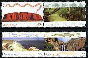 Australia 1993 World Heritage Sites (1st series) perf set of 4 unmounted mint, SG 1392-95