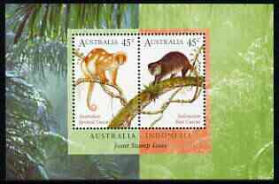 Australia & Indonesia 1996 Joint Issue perf m/sheet unmounted mint, SG MS 1588