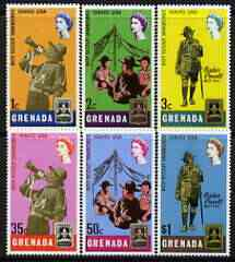 Grenada 1968 World Scout Jamboree perf set of 6 unmounted mint, SG 283-88